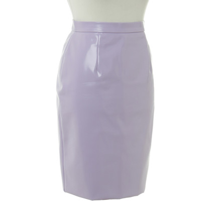 Miu Miu skirt in lacquer finish