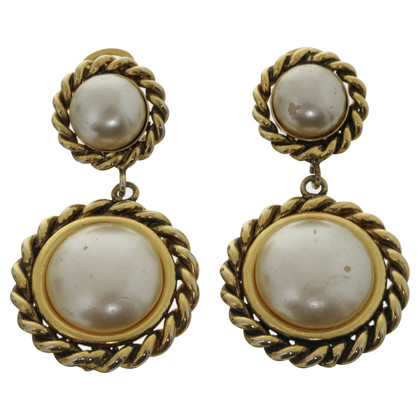 Moschino Earrings with pearls