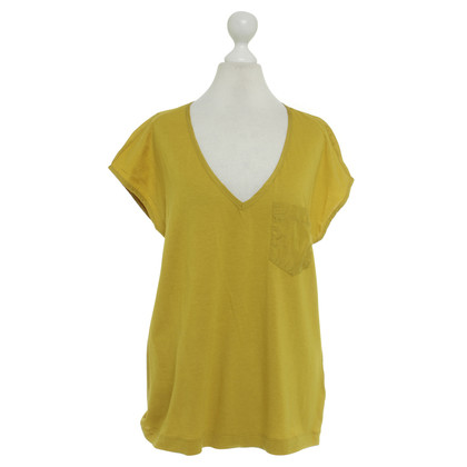 Drykorn top in mustard yellow
