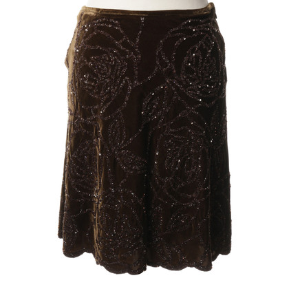 Ralph Lauren skirt in Velvet look