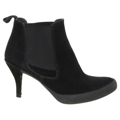Pedro Garcia Suede Ankle Boots in black