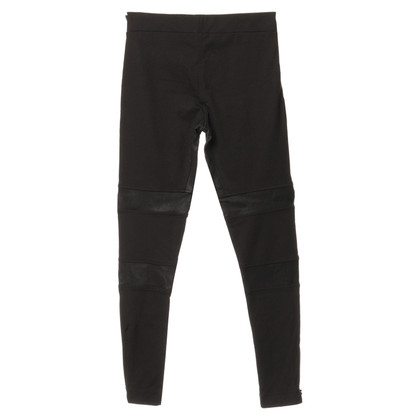 All Saints Leggings from material mix