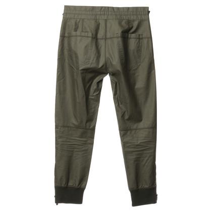 J. Crew 7/8 pants Green
