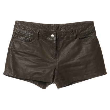 Haute Hippie Shorts aus Leder