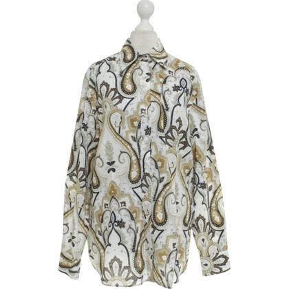 Van Laack Blouse Paisley pattern