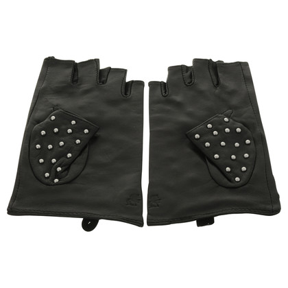 Karl Lagerfeld Gloves mini Studs with rivets