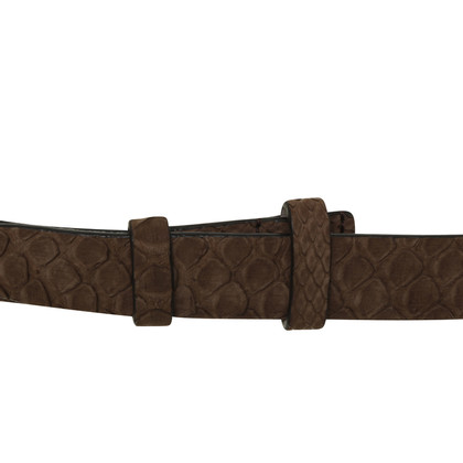 Brunello Cucinelli Reptile leather belt