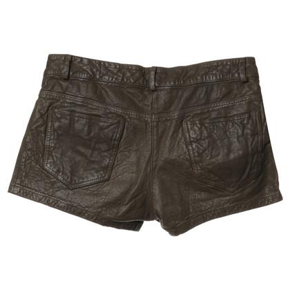 Haute Hippie Leather shorts