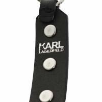 Karl Lagerfeld Armband Studs aus Leder