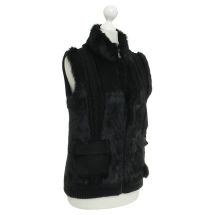 Oakwood Vest made of a material mix