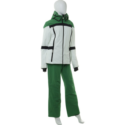 Other Designer Toni Sailer - Ski suit in green and white