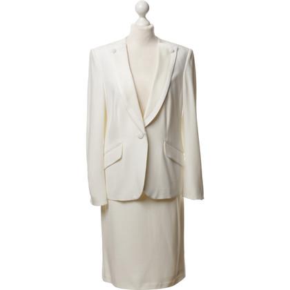 Rena Lange Costume in bianco
