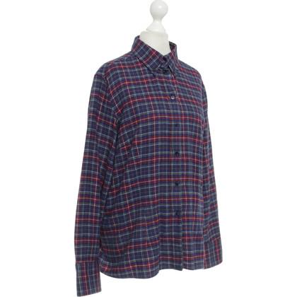 Van Laack Shirt met geruite patroon