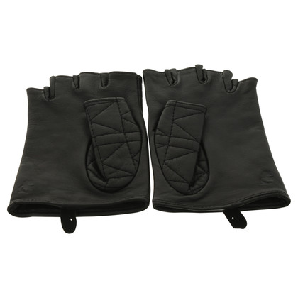 Karl Lagerfeld Kuilted leather gloves