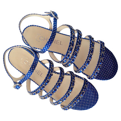 Chanel Sandals in Blue