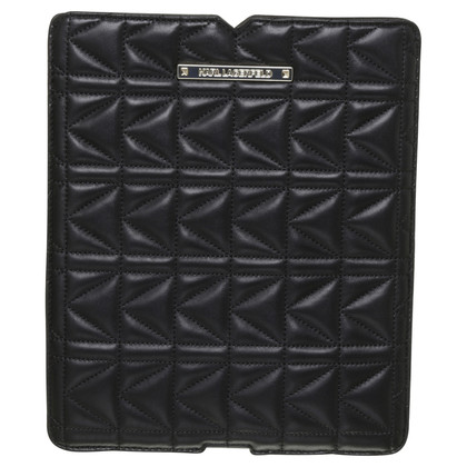 Karl Lagerfeld iPad Case leather
