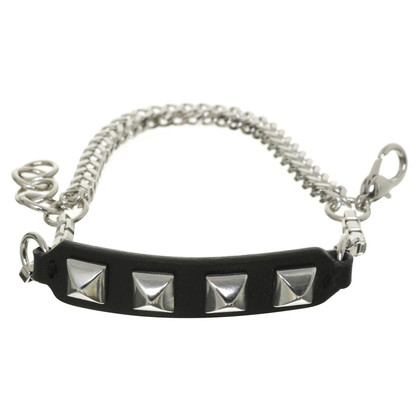 Karl Lagerfeld Bracelet with leather