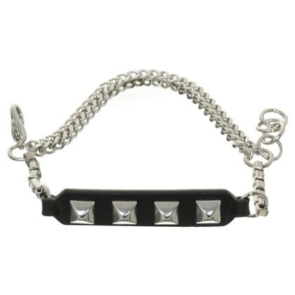 Karl Lagerfeld Bracelet with studs trim