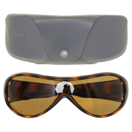 Miu Miu Sunglasses in Brown