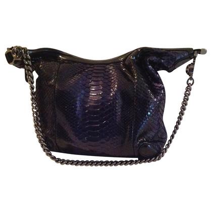 Gucci Shoulder bag in black and blue