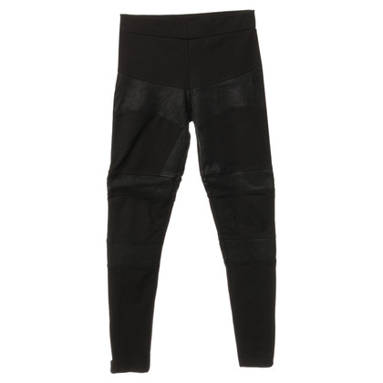 All Saints Leggings da mix di materiali