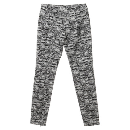 Diane von Furstenberg Pants in black and white