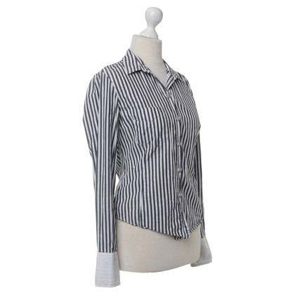 Paul Smith Cotton blouse with stripes