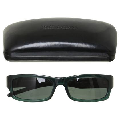 Dolce & Gabbana Sonnenbrille in Grün