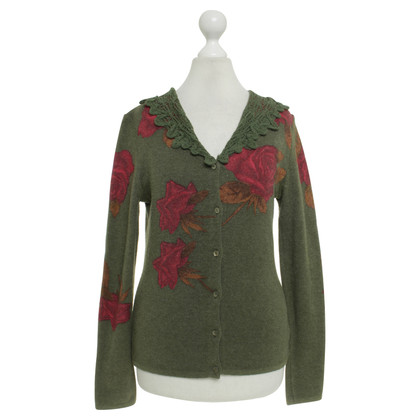 Blumarine Sweater with a floral pattern