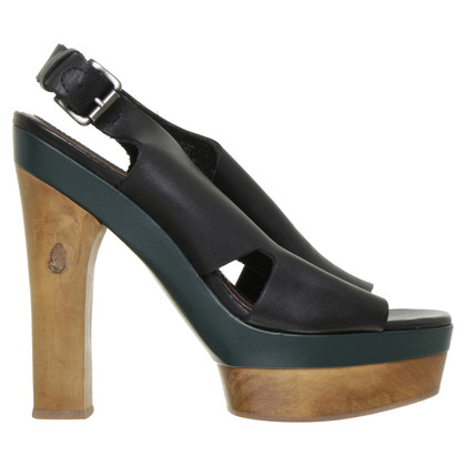 Marni for H&M Plateau-Sandaletten in Tricolor