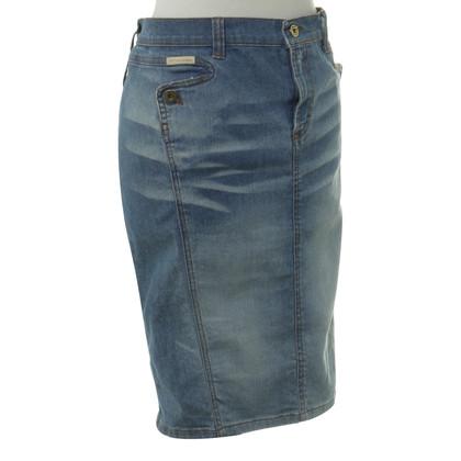 D&G Jeans Rok in lichtblauw