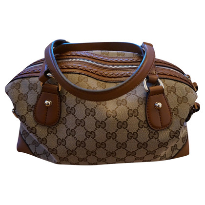 Gucci Canvas Leather Bag