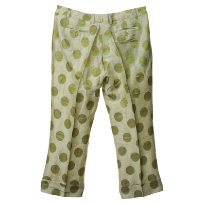 Etro 7/8 pants with dots