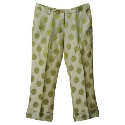Etro Pantaloni 7/8 con i puntini