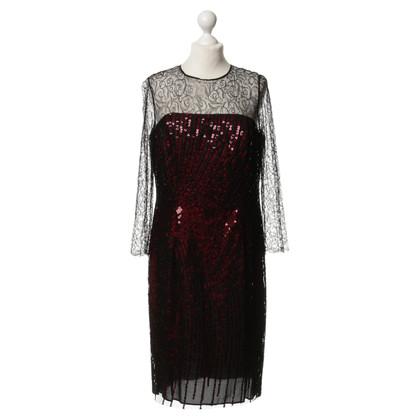 Rena Lange Kleid mit Spitze und Pailletten