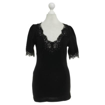 Dolce & Gabbana Knit top with lace
