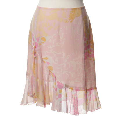 Christian Lacroix Silk skirt with patterns
