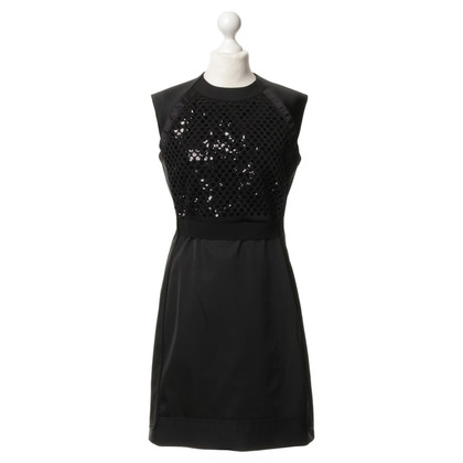 Victoria Beckham Sheath dress with sequin trim