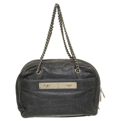 Mulberry Tote in grey
