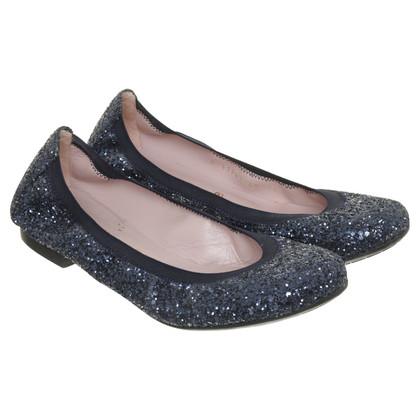 Pretty Ballerinas Ballerina's met glitter deeltjes