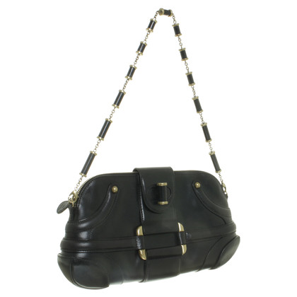 Alexander McQueen Black leather bag