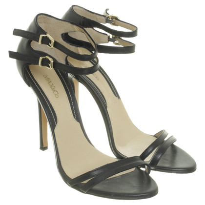 Max & Co Strappy sandals in black