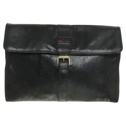 Aigner Briefcase in black