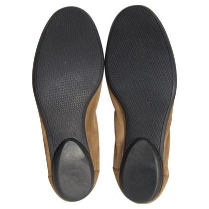 Hermès Leather ballerinas