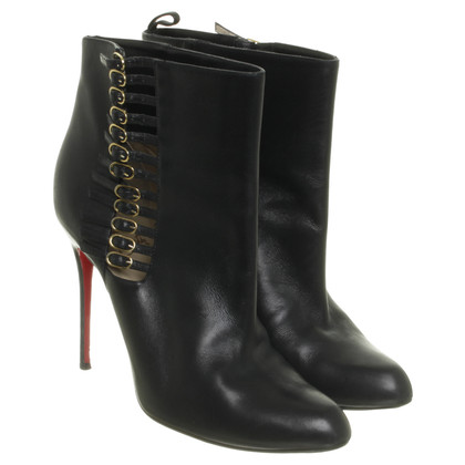 Christian Louboutin Ankle boots with decorative buckles