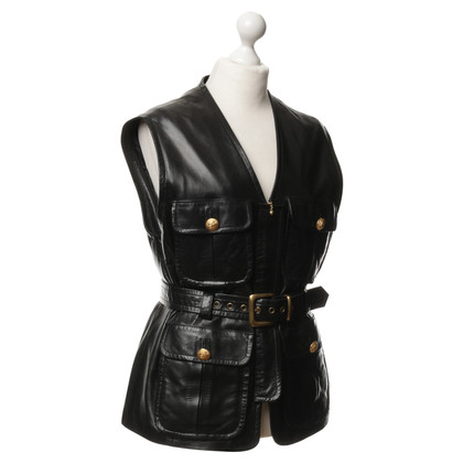 Other Designer Sylvie Schimmel - vest made of leather