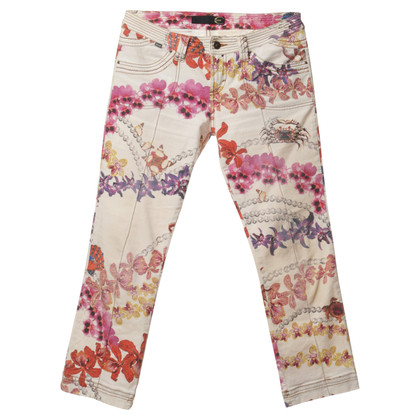 Just Cavalli Jeans con stampa floreale