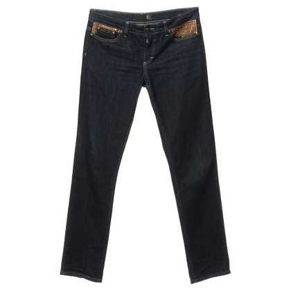 Just Cavalli Jeans met studs trim