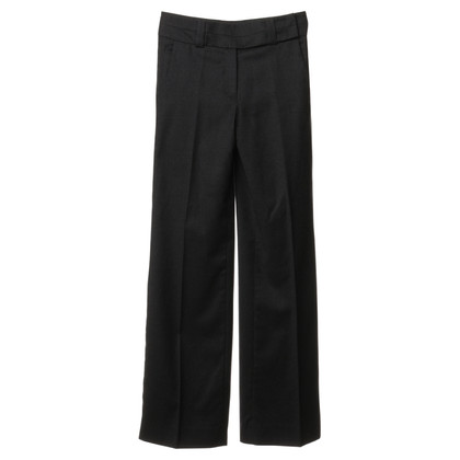 René Lezard Trousers in dark grey