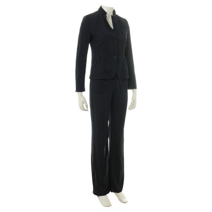 Akris Pants suit in Midnight Blue